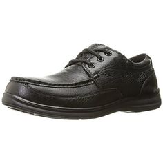 Florsheim Mens Wily Leather Slip Resistant Work Shoes