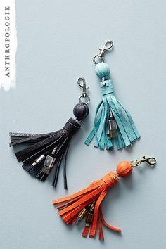 Tasseled iPhone USB Cord  | Shop Anthropologie