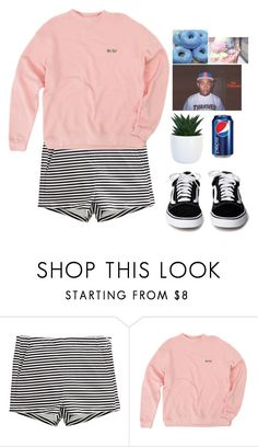 """Pinky"" by plasticks ❤ liked on Polyvore featuring H&M"