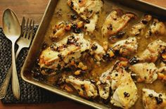 Fragrant Sunday Chicken with Olives and Apricots
