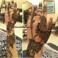 Mehandi design luv it