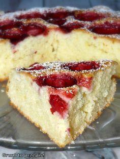Polish Recipes, Cheesecake, Baking Recipes, Deserts, Sweets, Sugar, Cookies, Food, Cheesecakes