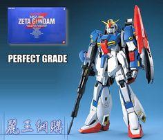 Bandai PG MS-06F PG MSZ-006 ZETA Gundam Perfect Grade 1:60 kit