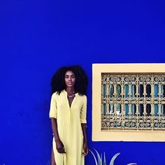 At this point, I might just be in spirited pursuit of photographing all the luscious blues Morocco has to offer  snapped by @sarankjones // #spiritedpursuit