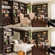 Murphy Bed Home Office Ideas.Murphy Bed Design Ideas: Smart Solutions For Small Spaces. Bed Desk Combos Save Space And Add Interest To Small Rooms . Royal Wall Bed Murphy Beds Of San Diego. Home and Family Murphy Bed Bookcase, Murphy Bed Office, Best Murphy Bed, Murphy Bed Plans, Bookcase Wall, Open Bookcase, Home Office Design, House Design, Design Design