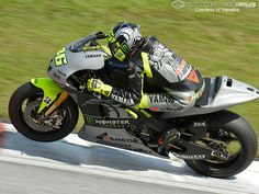 The Doctor, Valentino Rossi back on his Yamaha at the 2013 Sepang MotoGP test