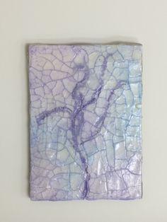 Crackle paste dancer 1, ATC size