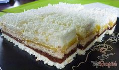Tiramisu s mandarinkami Salty Snacks, Snow Queen, French Food, Vanilla Cake, Baking Recipes, Cheesecake, Deserts, Food And Drink, Sweets
