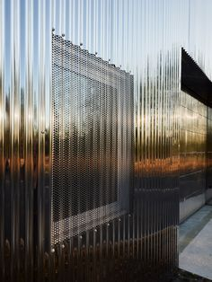 FREAKS wraps Sammode warehouse conversion in corrugated steel Metal Facade, Metal Cladding, Detail Architecture, Architecture Photo, Contemporary Architecture, Chinese Architecture, Architecture Office, Futuristic Architecture, Warehouse Conversion