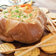 This easy shrimp dip recipe from Celebrate magazine gets a cajun kick thanks to Creole seasoning and Dijon mustard.