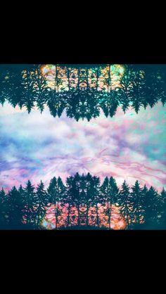 Trippy. Love this! So pretty!