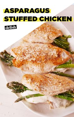 Savor Your Spring Veggies With Asparagus Stuffed ChickenDelish