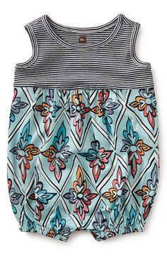 Tea Collection 'Monastero' Romper (Baby Girls) available at #Nordstrom