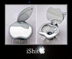 iShit, enfin un produit Apple que je pourrait acheter :-)