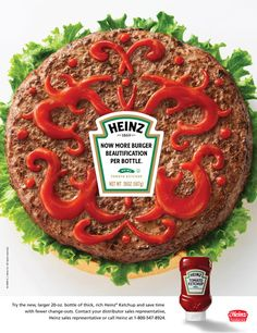 Heinz Ketchup Ad // Designed by Marlin