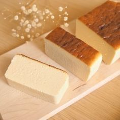 *濃厚♪ホワイトチョコチーズテリーヌ* Dessert Cake Recipes, Dessert Drinks, Sweets Recipes, Cheesecake Recipes, Baking Recipes, Desserts, Japanese Pastries, Bakery Cakes, Yummy Food