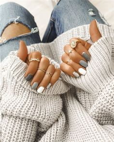 Erica shaw auf dreamy winter nails this color combo is my most popular nail post yet!over 1 000 of you saved this post for your next mani that makes 99 admiring nail art designs ideas to try in 2019 Summer Acrylic Nails, Best Acrylic Nails, Cute Nails, Pretty Nails, Hair And Nails, My Nails, Nagellack Design, Pink Nail Designs, Nails Design