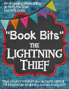 A fun and engaging pre reading activity for The Lightning Thief.  Just print, cut, and go! $