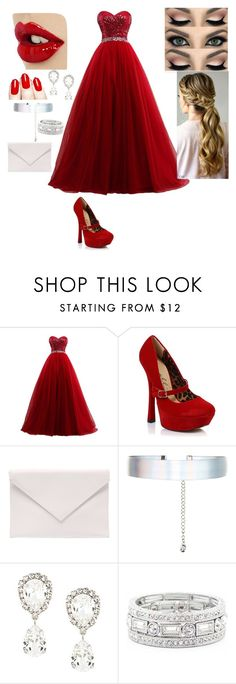 """""""Prom"""" by alabear99 ❤ liked on Polyvore featuring Ellie, Verali, Accessorize, Dolce&Gabbana and Sole Society"""