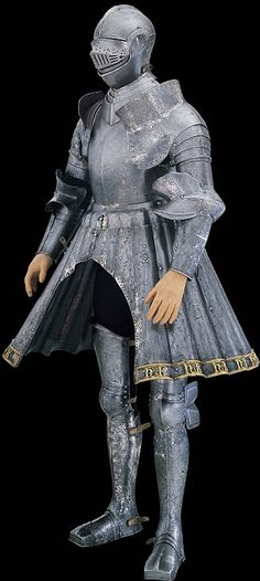 Engraved armour of Henry VIII