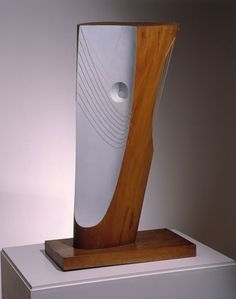 Barbara Hepworth Wood and Strings Plane wood with colour and strings, 1944