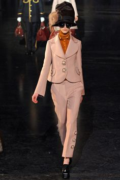 Louis Vuitton Fall 2012 RTW Two Button Jacket