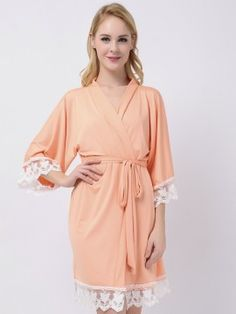 Peach Jersey Stretchy Robes Cheap Robes Bridesmaid Robes Kimono Robes Modal Bridesmaid Shirts Cheap Bridesmaid Gifts Source by bridalbridesmaidrobes Bridesmaid Pyjamas, Bridesmaid Shirts, Bridesmaid Dresses, Lily Cole, Cheap Bridesmaid Gifts, Bridal Suite, Light Spring, Outfits, Peach