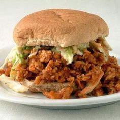 , these saucy sloppy joe sandwiches are a great way to try tempeh ...