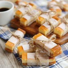 しっとり甘酸っぱし♪りんごとはちみつのスティックチーズケーキ - macaroni