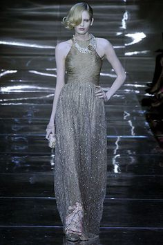 Armani Privé Fall 2008 Couture Fashion Show - Heidi Mount