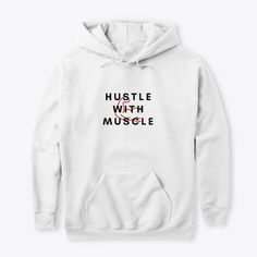 The best fitness t-shirts, tank tops or hoodies to get now. Funny, witty and motivating apparel that comes in many different colors, types and sayings for men and women. Hoodie Outfit, Hoodie Jacket, Fitness Design, Dog Shirt, White Hoodie, Hoodies, Sweatshirts, Fun Workouts, Feel Better