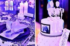 Luxury black, white and silver wedding. Purple wedding lighting.   Penthouse Purple wedding - Gold Coast wedding decorator www.sugarandspiceevents.com.au