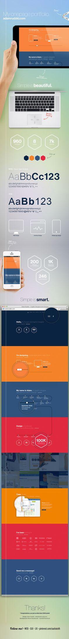 adamrudzki.com - Portfolio by Adam Rudzki, via Behance *** Site of the Day *** #web #design #behance