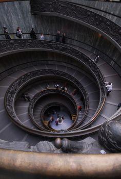 allthingseurope:  Vatican Museum stairs (by clovis!)