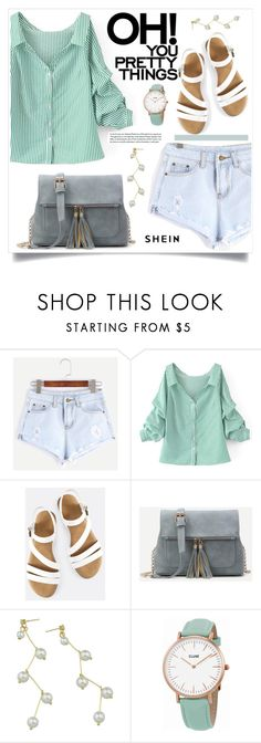 """""""SheIn"""" by amra-mak ❤ liked on Polyvore featuring WithChic, CLUSE and shein"""
