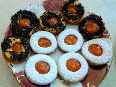 Λατρεμένα μπισκότα βουτύρου με μαρμελάδα Cheesecake, Muffin, Food And Drink, Cookies, Breakfast, Desserts, Christmas, Nutella, Mudpie