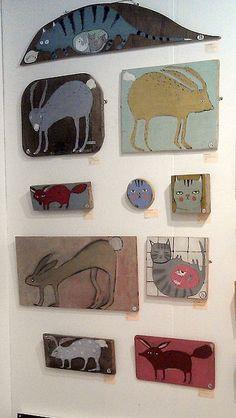 art fair wall by oswald flump, via Flickr