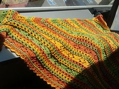 Ravelry: Citrus Shawl pattern by Cathy Dages