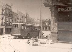 Calle San Jorge en Triana el 18 de julio de 1936