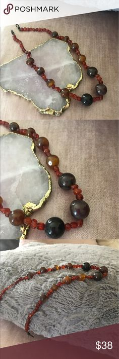 👛just In Beautiful Bauble Necklace This is so sweet it's Boho Bauble beads at its best! The new version of a classic ! Goes with everything ! The clasp itself I has such detail! Goldfinch Boutique Jewelry Necklaces