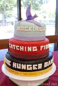 Hunger Games cake!