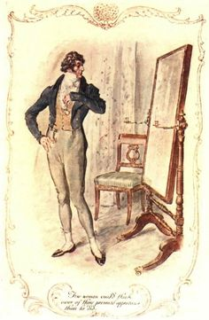 Few women could think more of their personal appearance than he did - Jane Austen's Persuasion, 1909