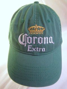 Corona Extra Ball Cap Adjustable Slouch Hat Anoma La Cerveza Mas Fina 2005 #CoronaExtra #Corona #Drinkup #Partytime #Cerveza