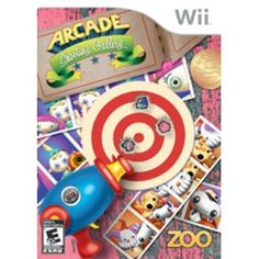 Zoo Games Arcade Shooting Gallery with Gun (Wii) Arcade, Wii U, Nintendo Wii, 007 Goldeneye, Just Dance Kids, Haunted Maze, Battlefield 4, Wii Games, Amusement Park