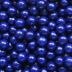 """Sweet and delicious """"Navy Blue Sixlets - 2 Lb Bag"""" from Give in to Temptation! Royal Blue And Gold, Blue Gold, Dark Blue, Kind Of Blue, Love Blue, Blue Bar, Blue Candy, Gold Baby Showers, Cute Food"""