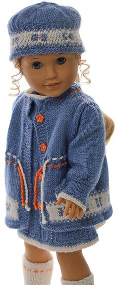 strickanleitung puppenjacke - Ihre Puppe wird reizend aussehen in diesen wunderschönen Kleidern