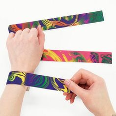 Slap bracelets were the bomb (remember the bomb? lol)