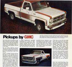 1976 GMC Impact speciality  package trucks