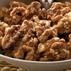 Maple Candied Walnuts