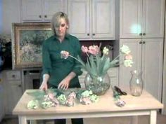 How to Make a Silk Flower Arrangement for Beginners https://www.youtube.com/watch?v=DhYAsY9OlR4